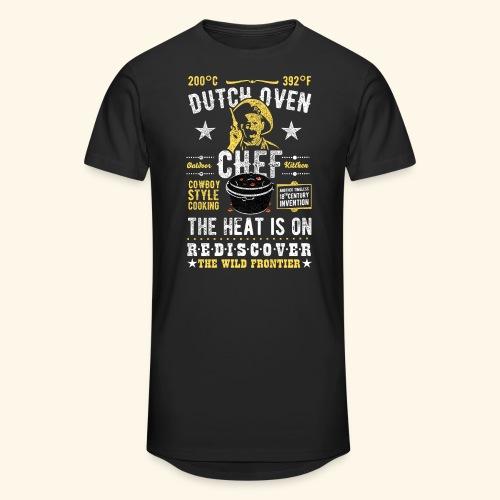 Dutch Oven Chef, Outlaw, distressed - Männer Urban Longshirt