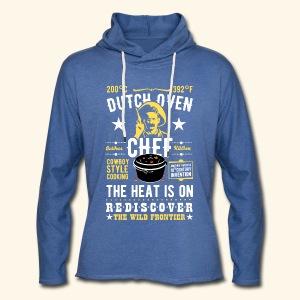 Dutch Oven Chef, Outlaw, clean - Leichtes Kapuzensweatshirt Unisex