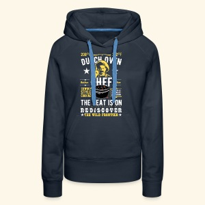 Dutch Oven Chef, Outlaw, clean - Frauen Premium Hoodie