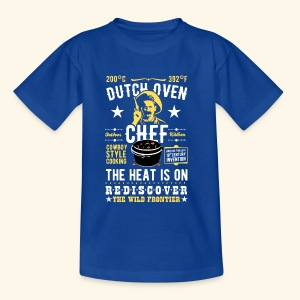 Dutch Oven Chef, Outlaw, clean - Kinder T-Shirt