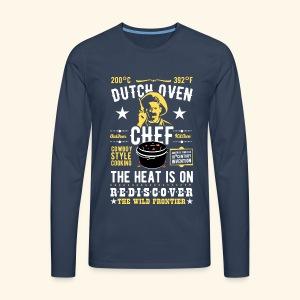 Dutch Oven Chef, Outlaw, clean - Männer Premium Langarmshirt