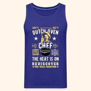 Dutch Oven Chef, Outlaw, clean - Männer Premium Tank Top