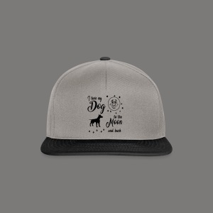 I love my Dog to the Moon and back - Snapback Cap