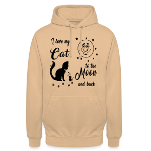 I love my Cat to the Moon and back - Unisex Hoodie