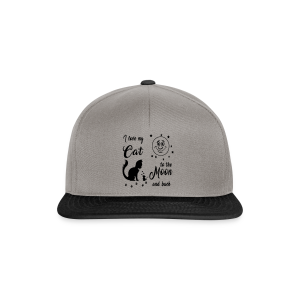 I love my Cat to the Moon and back - Snapback Cap