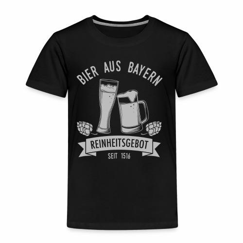 Bier aus Bayern - schwarz - Kinder Premium T-Shirt