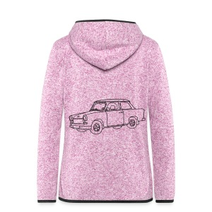 Trabi - Women's Hooded Fleece Jacket