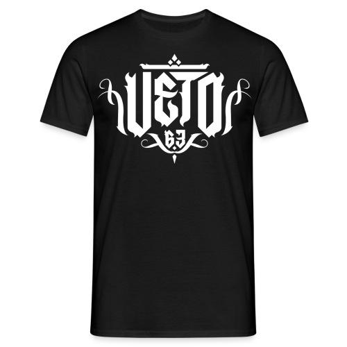 Veto Shirt Schwarz - Männer T-Shirt