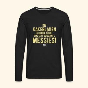 Kakerlake - Männer Premium Langarmshirt