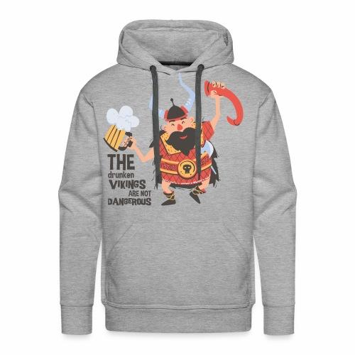 Drunken Vikings - Männer Premium Hoodie