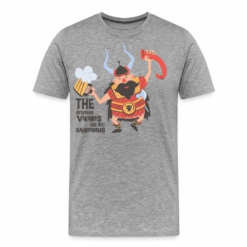 Drunken Vikings - Männer Premium T-Shirt