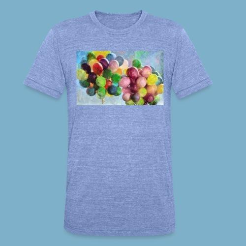 Ballon - Unisex Tri-Blend T-Shirt von Bella + Canvas