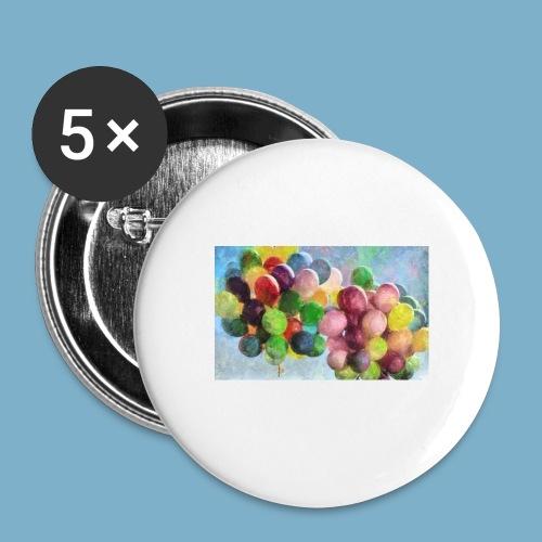 Ballon - Buttons mittel 32 mm