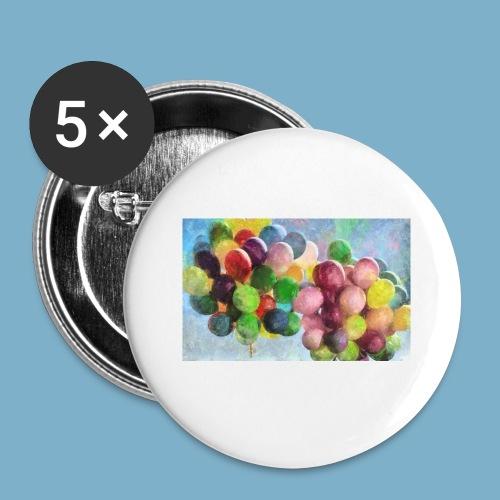 Ballon - Buttons klein 25 mm