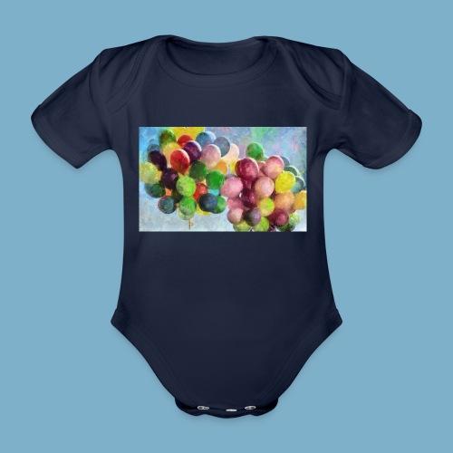 Ballon - Baby Bio-Kurzarm-Body