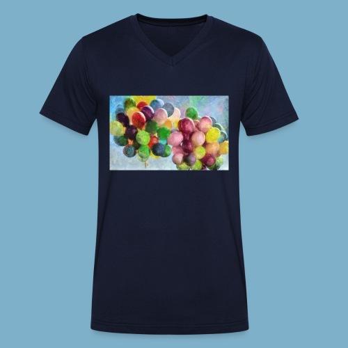 Ballon - Männer Bio-T-Shirt mit V-Ausschnitt von Stanley & Stella