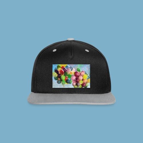 Ballon - Kontrast Snapback Cap