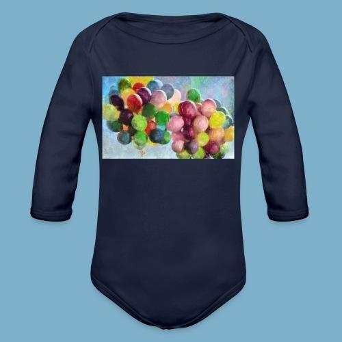 Ballon - Baby Bio-Langarm-Body