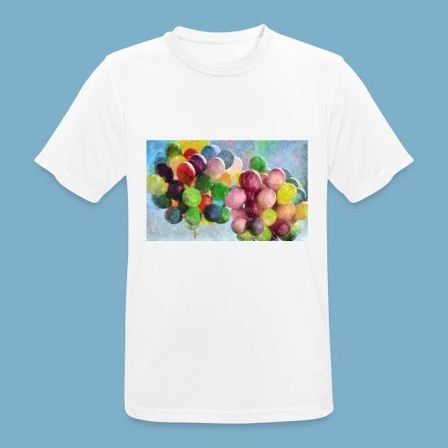 Ballon - Männer T-Shirt atmungsaktiv