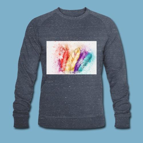 Feder Motiv - Männer Bio-Sweatshirt von Stanley & Stella