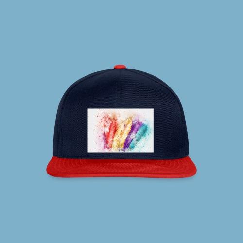 Feder Motiv - Snapback Cap