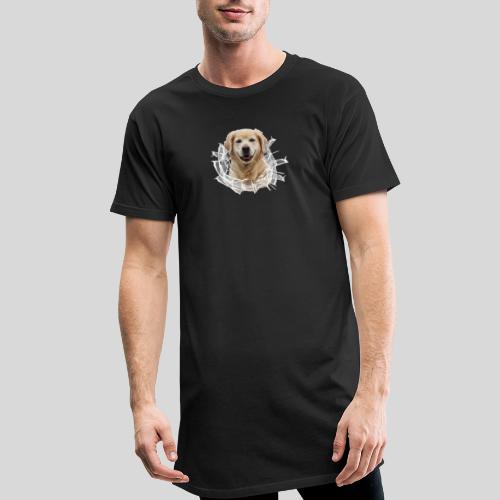 Golden im Glasloch - Männer Urban Longshirt