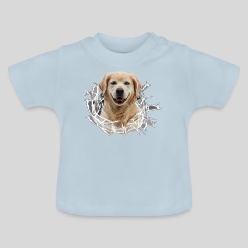 Golden im Glasloch - Baby T-Shirt