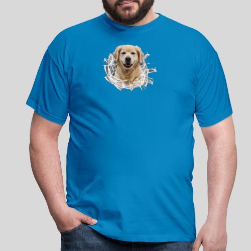 Golden im Glasloch - Männer T-Shirt