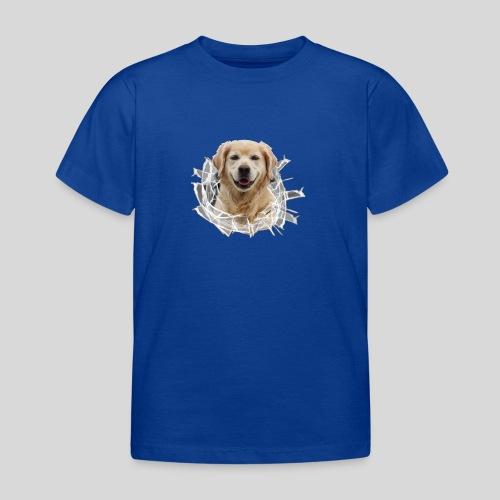 Golden im Glasloch - Kinder T-Shirt