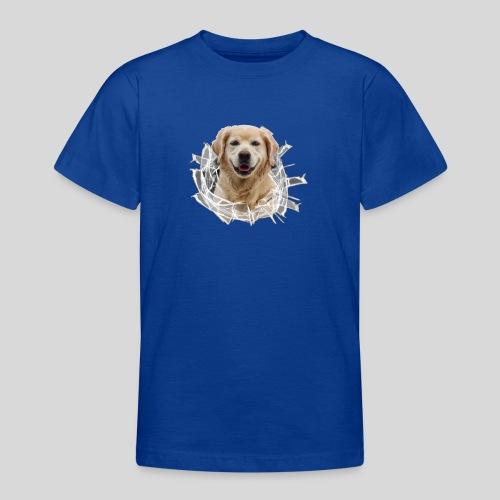 Golden im Glasloch - Teenager T-Shirt