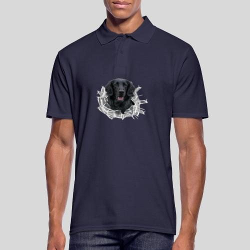 Flat im Glasloch - Männer Poloshirt