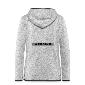 WEDDING Berlin  - Women's Hooded Fleece Jacket
