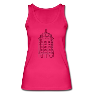 Wasserturm am Kollwitzplatz (Dicker Hermann) - Women's Organic Tank Top by Stanley & Stella