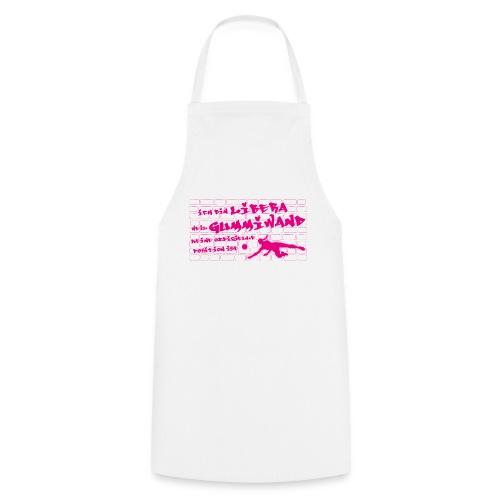 VolleyballFREAK Gummiwand Libera pink - Kochschürze