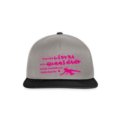 VolleyballFREAK Gummiwand Libera pink - Snapback Cap