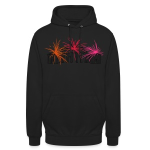 Berlin fireworks New Year's Eve at the Brandenburg Gate - Unisex Hoodie
