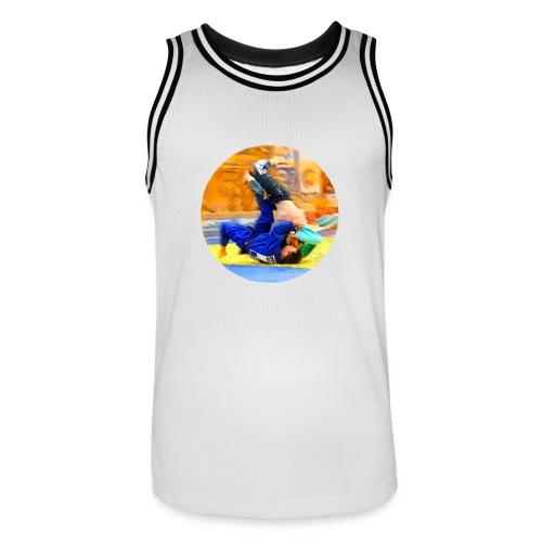 Sumi-gaeshi-Judowurf T-Shirts - Männer Basketball-Trikot
