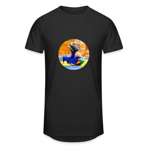 Sumi-gaeshi-Judowurf T-Shirts - Männer Urban Longshirt