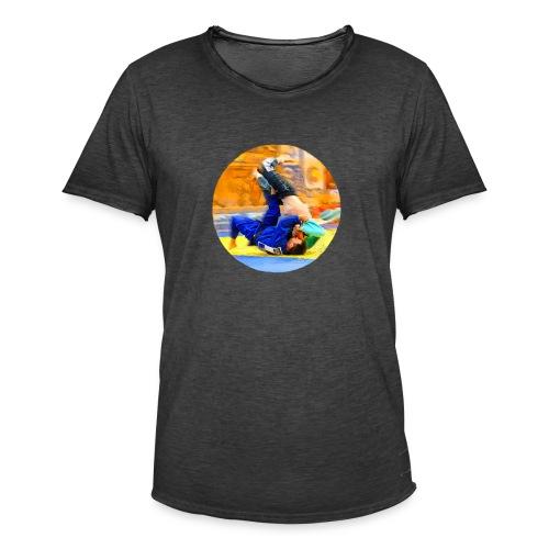 Sumi-gaeshi-Judowurf T-Shirts - Männer Vintage T-Shirt