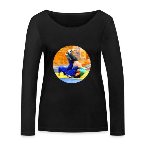 Sumi-gaeshi-Judowurf T-Shirts - Frauen Bio-Langarmshirt von Stanley & Stella