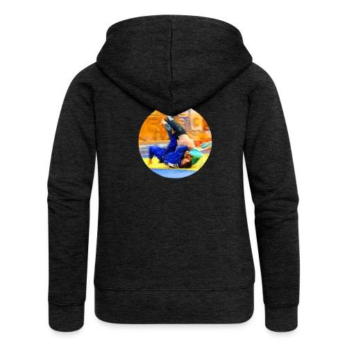 Sumi-gaeshi-Judowurf T-Shirts - Frauen Premium Kapuzenjacke