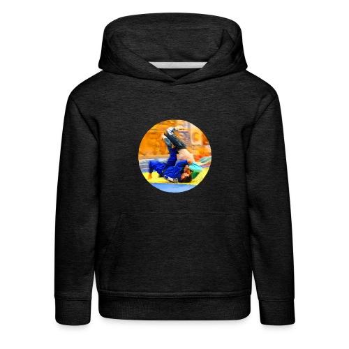 Sumi-gaeshi-Judowurf T-Shirts - Kinder Premium Hoodie