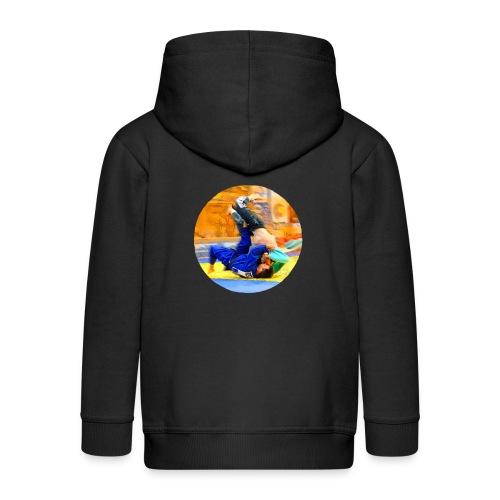 Sumi-gaeshi-Judowurf T-Shirts - Kinder Premium Kapuzenjacke