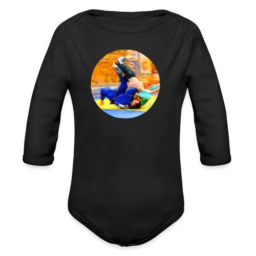 Sumi-gaeshi-Judowurf T-Shirts - Baby Bio-Langarm-Body