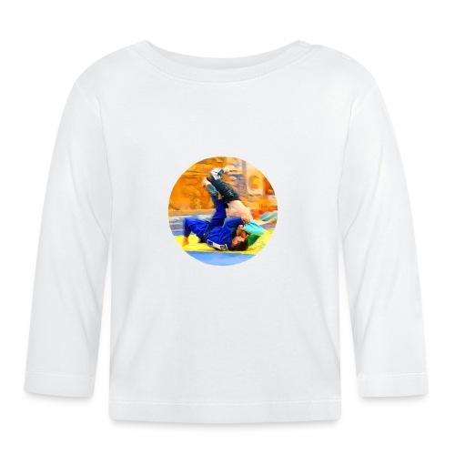 Sumi-gaeshi-Judowurf T-Shirts - Baby Langarmshirt