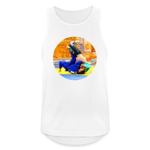Sumi-gaeshi-Judowurf T-Shirts - Männer Tank Top atmungsaktiv