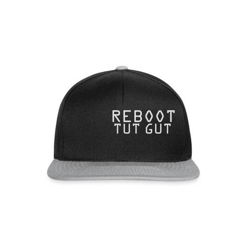 REBOOT TUT GUT - Frauen Hoodie  - Snapback Cap