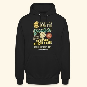 Man Flu Survivor T-Shirts - Unisex Hoodie