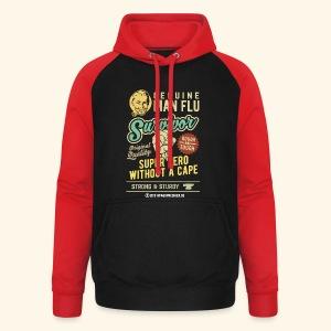 Man Flu Survivor T-Shirts - Unisex Baseball Hoodie
