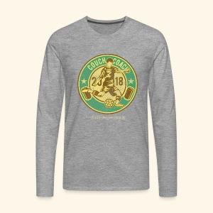 Couch Coach 2018 T-Shirts - Männer Premium Langarmshirt